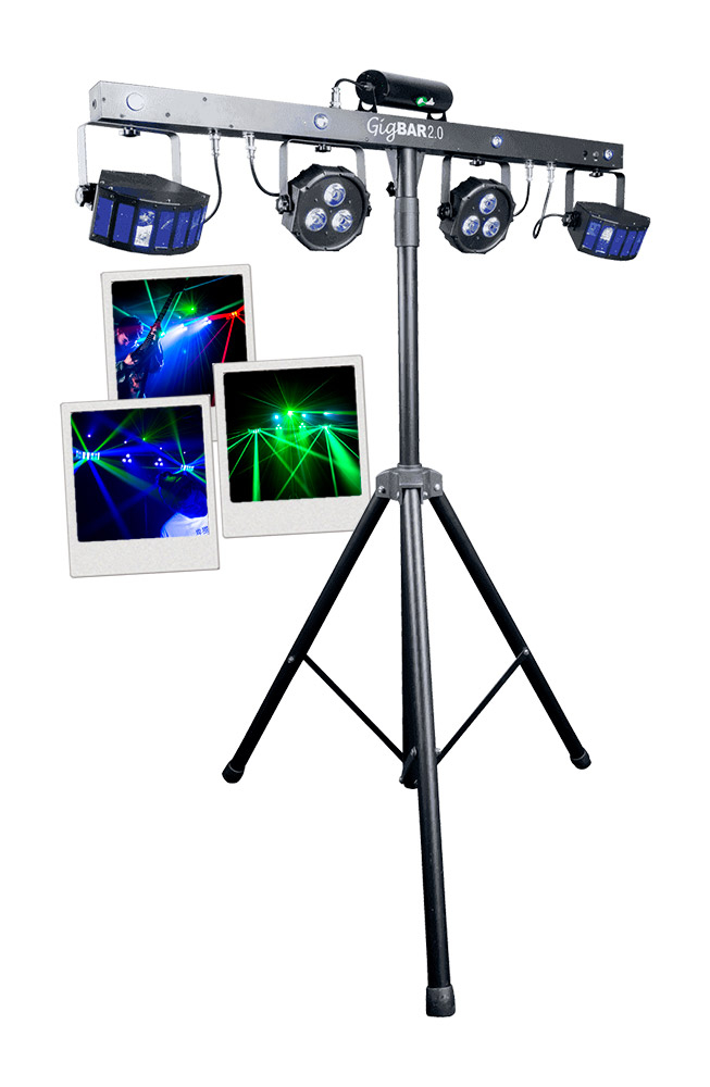 pack jeux de lumi res chauvet gigbar 2 sonowatts. Black Bedroom Furniture Sets. Home Design Ideas